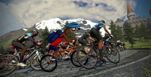 Virtual Training Apps: Zwift Cycling